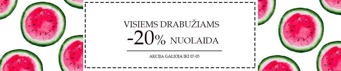 VISIEMS DRABUZIAMS -20%