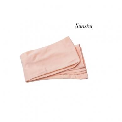 """Baletinės pėdkelnės """"Sansha T99"""" (baletinė rožinė, balta, juoda, kūno sp.) 4"""