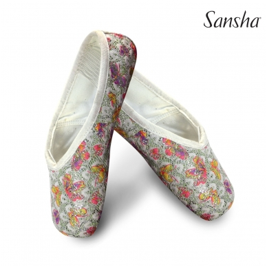 "Dekoruoti puantai Sansha ""Pink Delight"""