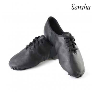 """Džiazo stiliaus bateliai Sansha """"Tivoli"""" juodi"""