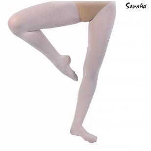 """Baletinės pėdkelnės """"Sansha T99"""" (baletinė rožinė, balta, juoda, kūno sp.)"""